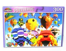 🌹New Puzzlebug 300 Piece Jigsaw Puzzle Fun and Colorful Shaped Hot Air Balloons