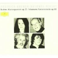ARGERICH/KREMER/BASHMET/MAISKY - KLAVIERQUARTETT OP.25/+  CD NEW