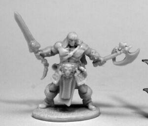 Reaper Miniatures - 77469 - Brand Oathblood, Barbarian - Bones DHL
