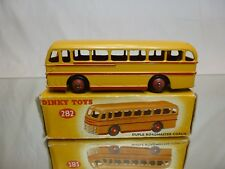 DINKY TOYS 282 DUPLE ROADMASTER COACH - BUS - VERY GOOD CONDITION IN BOX