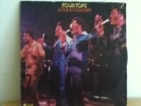 FOUR   TOPS              LP         LIVE  AND  IN  CONCERT
