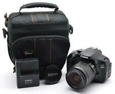 Canon EOS 600D 18 MP Spiegelreflex, Zoom Lens EF-S 3,5-5,6 / 18-55 mm IS II n01