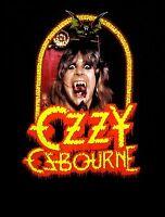 OZZY OSBOURNE cd cvr SPEAK OF THE DEVIL Official SHIRT MED New black sabbath