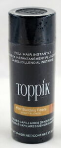 TOPPIK light blonde Hair Building & Hair Thickening Fiber 27.5g 0.97 fl oz