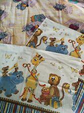 Bettwäsche für Kinder Kinderbettwäsche Babybett mit Tiermotiv 100 x 135