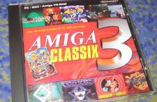 Amiga Classix Gold 3 III PC 100 Amiga jeux pour les PC dans Housse