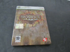 BIOSHOCK cofanetto latta - GIOCO XBOX 360 PAL Solo Custodia e libretto NO dvd
