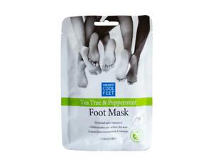 Tea Tree & Peppermint Foot Pack Moisturising Socks/Boots Treatment