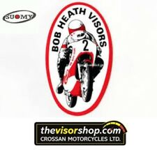 Bob Heath Motorcycle Helmet Visor BHV574a - SUOMY Spec 1R/ Extreme /Apex - CLEAR