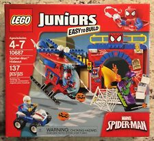 Lego 10687 Juniors Marvel Spider-Man Hideout, New In Factory Sealed Box