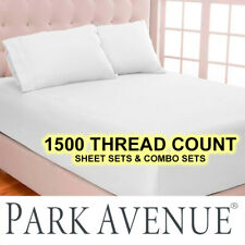 NEW PARK AVENUE 1500TC THREAD COUNT SHEET SETS| COMBO SETS 70% OFF RRP