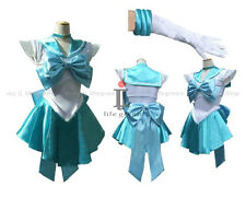 Sailor Moon Sailor Mercury Ami Mizuno Amy Mizuno Cosplay Costume,Whole Set