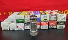 6Jh8 Vacuum Tube Nos Nib Various Brand Hickok Tested (More Available)