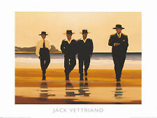 The Billy Boys by Jack Vettriano High Quality Print 50 x 40cm Genuine 2018©