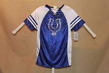 Indianapolis Colts NFL Fan Fashion JERSEY/Shirt  MAJESTIC  Womens Medium NWT  sh