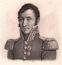 Général Jean Joseph TARAYRE Napoléon Bonaparte Premier Empire 1818 Aveyron