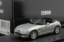 Ebbro 43781 1:43 Scale Suzuki Cappuccino (1991) Die Cast Model Car Silver