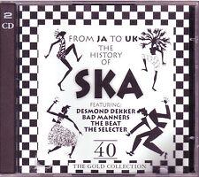 The History of SKA  -  40 Tracks   Doppel CD