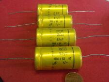 SELTEN! KONDENSATOR 1000µF 63V=NOSTALGIE Org.NSF  D=20x39mm   2 Stück  25280