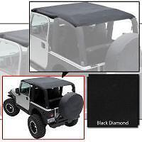 Smittybilt Extended Top 97-06 Jeep Wrangler TJ 93635 Black Diamond