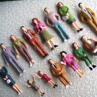 Lot de 28 PERSONNAGES 1:24 échelle G peint figurines