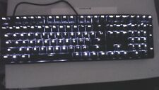 Ducky One 1608S USB Wired Mechanical Keyboard, White LED, Cherry Speed Switches