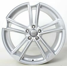 4x 18 Zoll Alufelgen Audi A3 8V 8P A4 A6 4F S4 S6 A8 Q2 Q3 S3 TT silber WH27