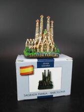 Barcelona Sagrada Familia Gaudi Modell,Souvenir Spanien Spain ,handbemalt,