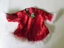 American Girl Bitty Baby Christmas Dress to 2000 Santa's Helper Set Outfit