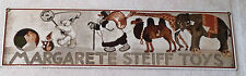 ❤Margarete Steiff Toys Enamel Sign~ Teddy Bear Catalog Boutique Collector Item❤