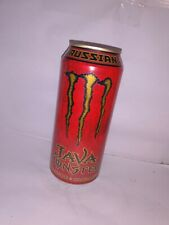 2007 Java Monster Energy RUSSIAN! ONE (1) Can - Full, Sealed 15 oz Can RARE
