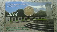 "GRECE 2014  2 EURO COMMEMORATIVE ""ILES IONIENNES"" UNC"