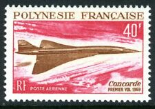 French Polynesia 1969 Concorde Airmail MNH P438