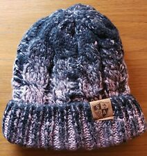 BLACK AND PINK INFUSION BEANIE Hat Snow Ski Cap