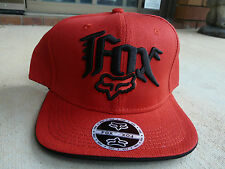 FOX Cap RED Snapback