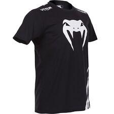 """Venum Challenger"""" T-shirt - Black/Ice, Gr. S-XXL. 100%Baumwolle. MMA, Kickboxen,"""