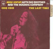 """JANIS JOPLIN coo coo (PS) VG++/VG++  french 7"""""""