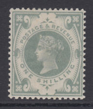 SG 211 1/- Grey Green K40 (2) in very fine and fresh very lightly mounted mint .
