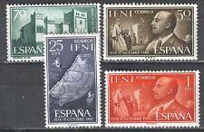 Spain IFNI  Edifil # 179/182 **  General Franco