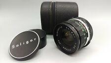 >Japan Vintage SOLIGOR f2,8 28mm WIDE ANGLE Lens M42 Mount Camera WORKING! READ!