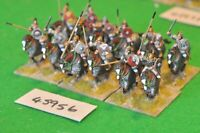 25mm roman era / goth - cavalry 12 figs (plastic) - cav (45956)