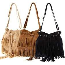 HOT Fashion Women Fringe Tassel Shoulder Bag Crossbody Bag Messenger Handbag