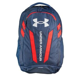 Brand New! Under Armour Hustle 5.0 Backpack Navy 409