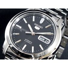 SEIKO 5 OROLOGIO AUTOMATICO 21 JEWELS DAY DATE SNKK71K1 SNKK71K AUTOMATIC WATCH