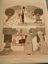 Quelle Heure est il ? Il y a 60 ans et aujourd'hui Print Art Déco 1909