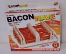 Emson Bacon Wave Microwave Bacon Cooker Less Fat Less Calories Crispy Tasty