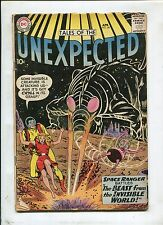 TALES OF THE UNEXPECTED #48 (4.0) BEAST FROM THE INVISIBLE WORLD 1960