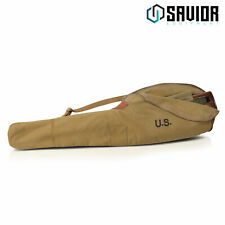 "35"" Vintage ""WWII STYLE"" Canvas Cotton M1 Carbine Rifle Bag Soft Gun Range Case"