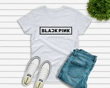 687648eafb8d9 BLACK PINK T-shirt Kpop Lisa Jennie Jisoo Rose Girl Group UK SELLER woomens  kids
