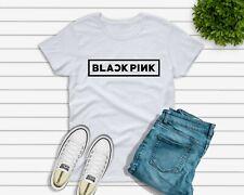 17a7480f6b805 BLACK PINK T-shirt Kpop Lisa Jennie Jisoo Rose Girl Group UK SELLER woomens  kids